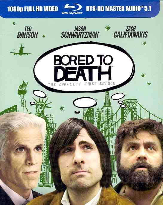 BORED TO DEATH:COMPLETE FIRST SEASON BY BORED TO DEATH (Blu-Ray)